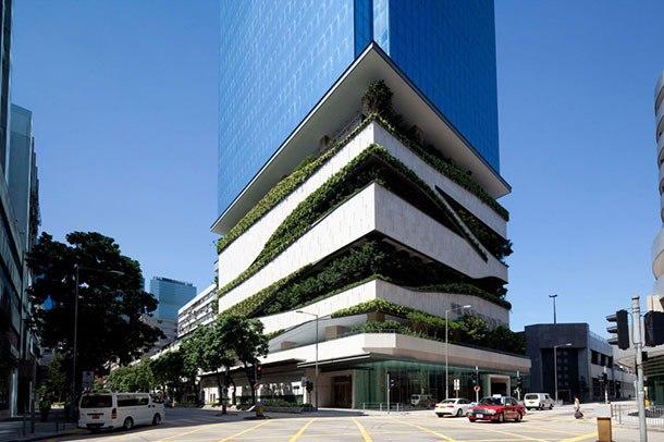 В Гонконге, Китай, введено в эксплуатацию 28-этажное