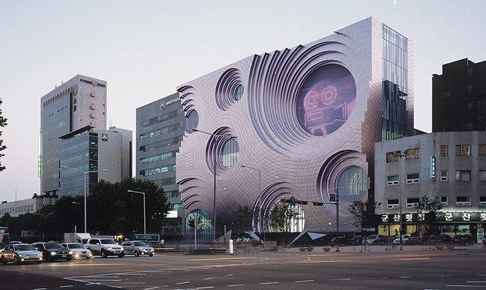 18. Культурный комплекс Kring в Сеуле Современный культурный