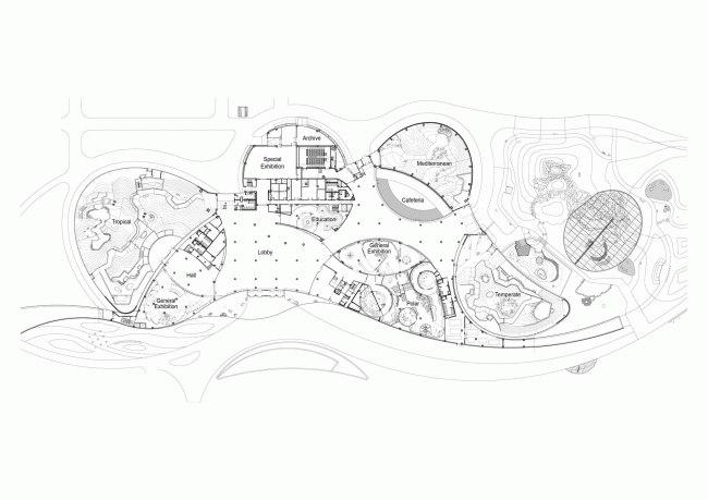 Южная Корея.Образовательный комплекс «Проект Экориум», спроектированный бюро