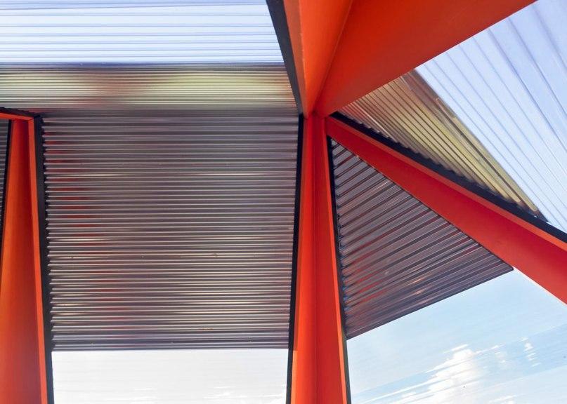 Frank Havermans creates futuristic pavilion in the