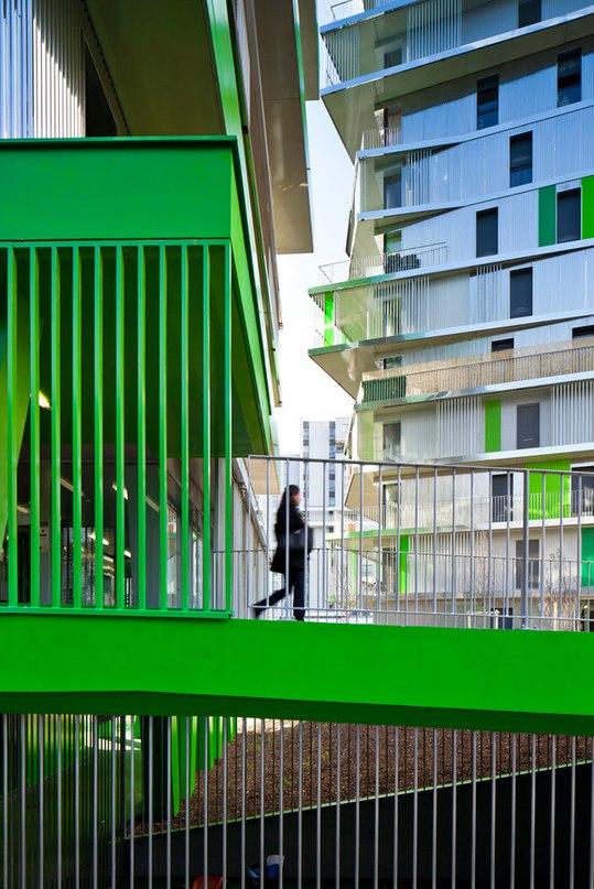 7 САМЫХ ЯРКИХ АРХИТЕКТУРНЫХ ПОСТРОЕК. Жилой дом, Париж Кондоминиум
