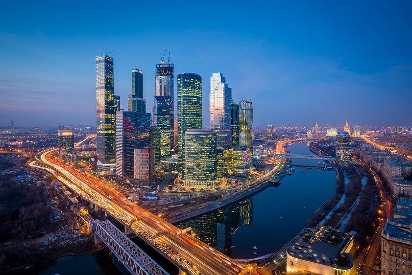 Москва-Сити 2015 года от фотографа Д.Чистопрудова под музыку
