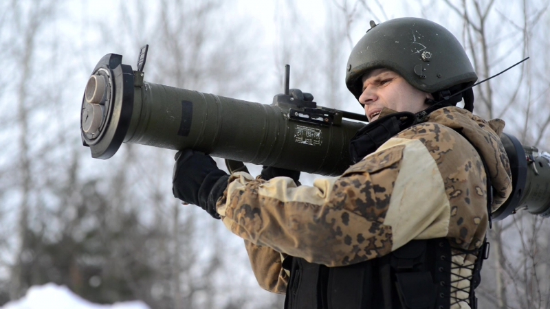 Страйкбольная РПГ-28 Клюква