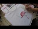 Мастер класс по росписи футболок