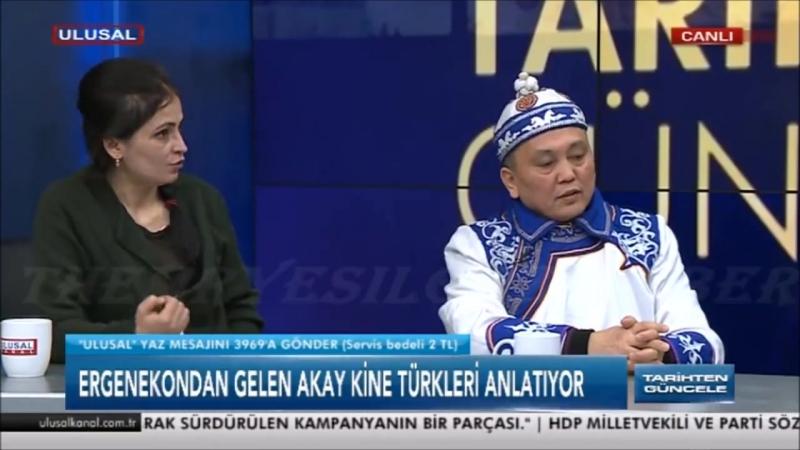 Akay Kİ Atatürkün adını kötü anacak adamın boynunu Altaylardan gelip keserim