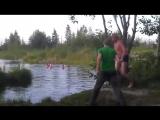 Вандам на речке