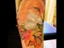 Nik tattoo-лиса