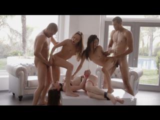 Aubrey Star, Jenna J Ross, Veronica Rodriguez - Five For Fucking All Sex, Hardcore, Blowjob, Group Sex