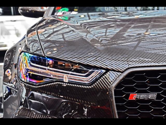 Full Carbon Audi RS6 exterior and interior