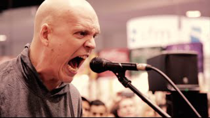 NAMM 2016: Devin Townsend Live At The Dunlop Booth
