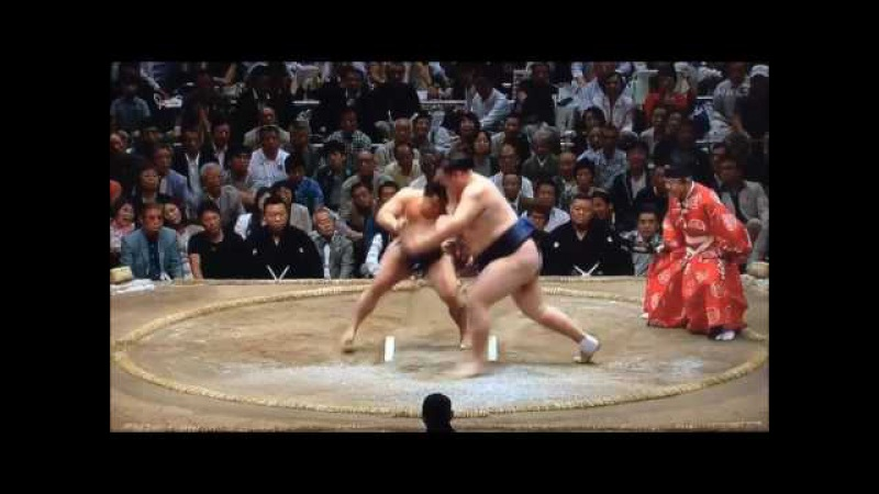 Sumo -Natsu Basho 2017 Day 12, May 25th -大相撲夏場所 2017年 12日目