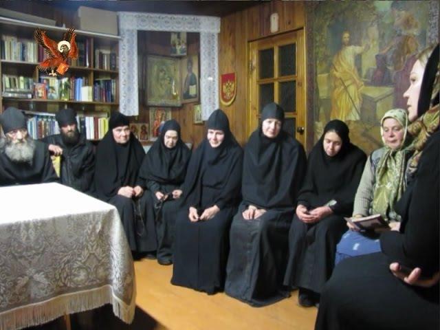 Беседа И. Чепурной с насельниками монастыря Общины во имя Иконы Божией Матери Державная