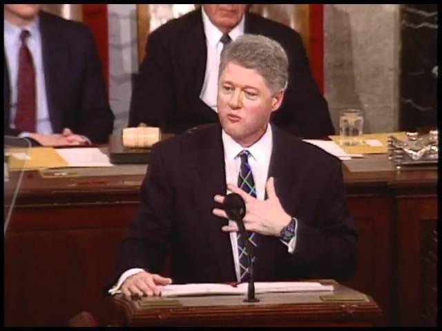 Доклад Президента США Билла Клинтона о положении дел в Союзе. 25 января 1994 года.