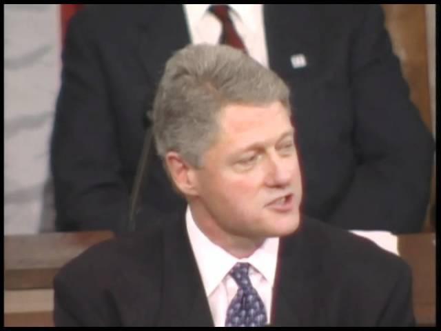Доклад Президента США о положении дел в Союзе. 24 января 1995 года.