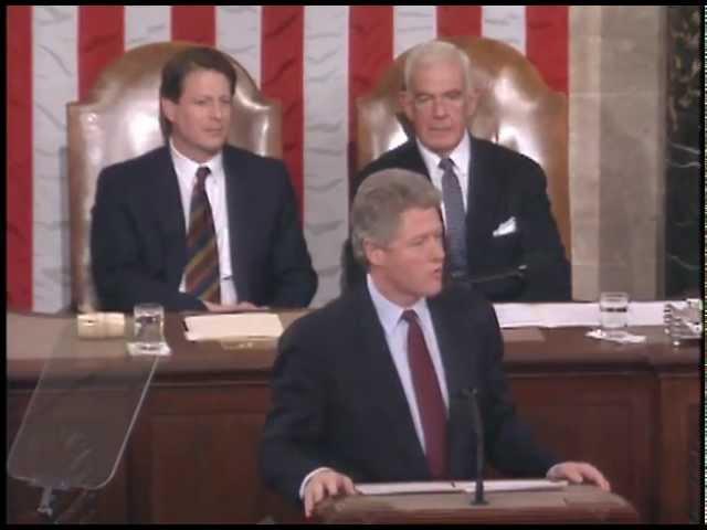Доклад Президента США Билла Клинтона о положении дел в Союзе. 17 февраля 1993 года.
