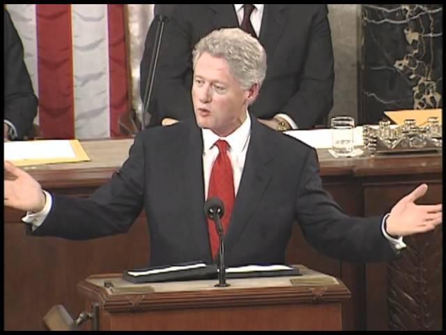 Доклад Президента США Билла Клинтона о положении дел в Союзе. 27 января 2000 года.