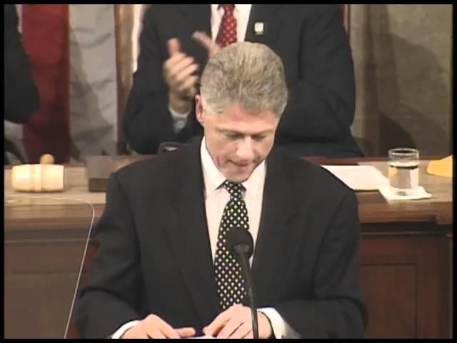 Доклад Президента США Билла Клинтона о положении дел в Союзе. 27 января 1998 года.