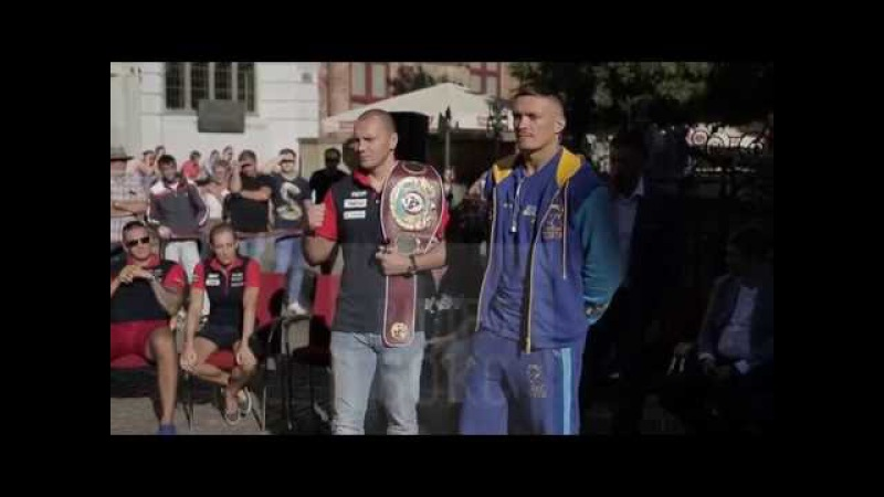Głowacki - Usyk. Eyes to eyes. Усик - Гловацки.