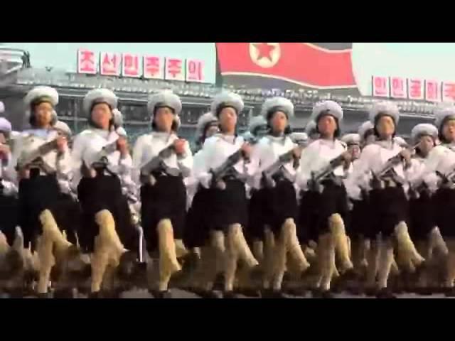 Группа крови на корейском. Северокорейский военный парад