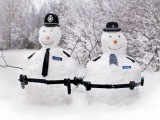 Ну очень творческие снеговики и забавные снежные скульптуры