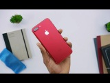 Apple представила впервые красный iPhone(7 и 7 plus). Обзор красных яблочек (Jack 3.5, USB Type-C)
