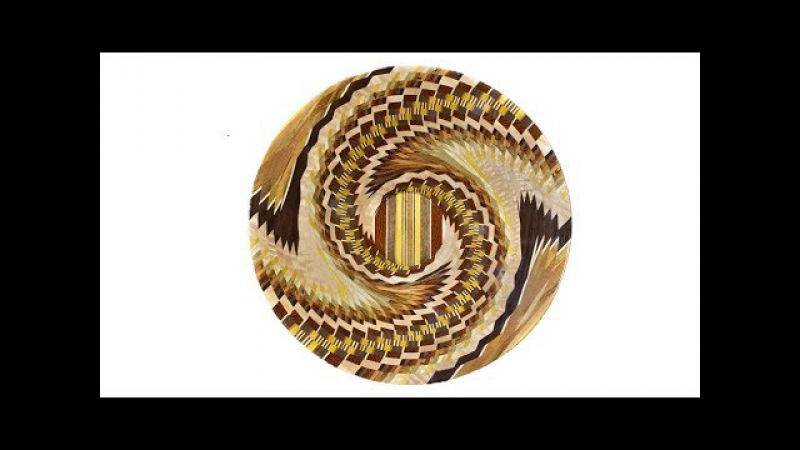 Woodturning a Segmented Bowl with 1070 Pieces!! - Tornado Bowl