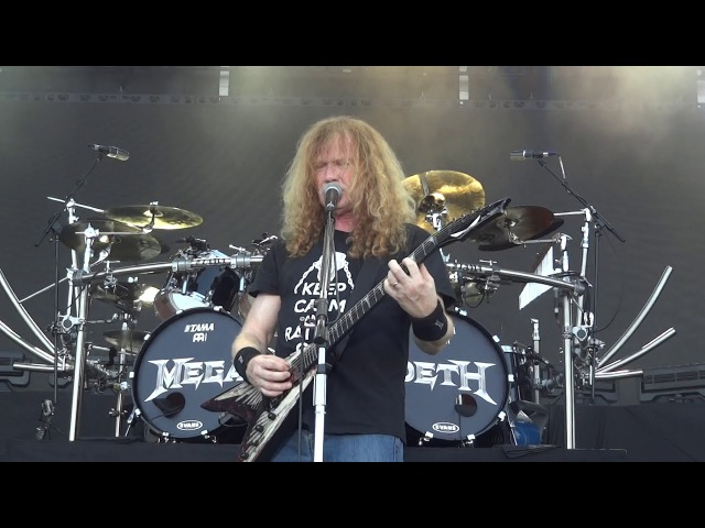 Megadeth - Symphony Of Destruction ROCK USA 2017 Oshkosh Wisconsin