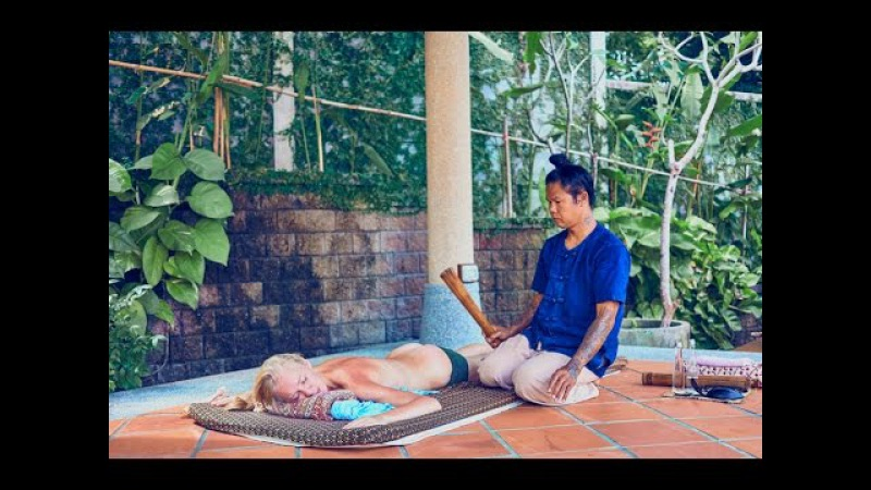 Лечебный тайский массаж на Пхукете | สุขกายเจริณเนตร หมอ รักษา เส้นโบร363