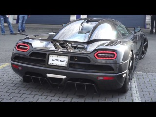 Koenigsegg Agera R COLD STARTUP and driveaway