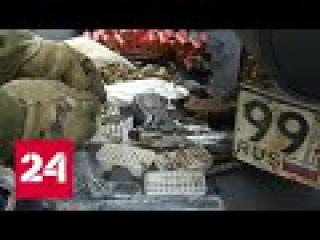 Во время учений спецназовцы нашли на дне Москвы-реки боевое оружие