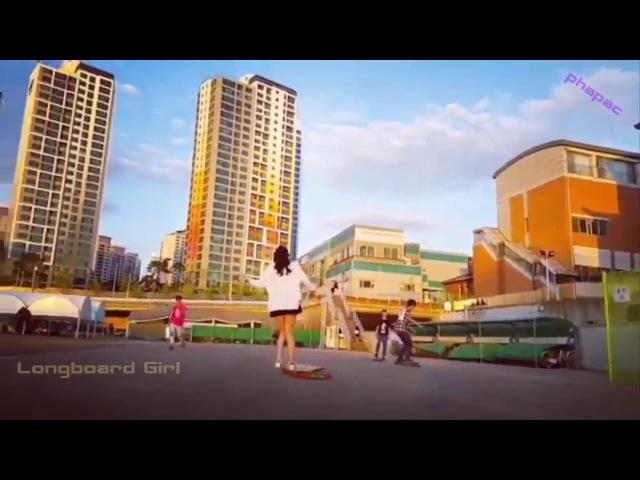 Girl Xinh Hàn Quốc Trượt Ván Cực Chất (Skate girls)