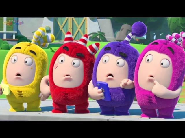 Оддбодс все серии подряд Новые мультики для детей 2017 Оддбодики шоу cartoons for kids Oddbods show