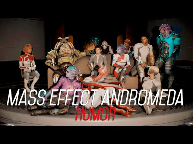 Mass Effect: Andromeda || Can't hold us || HUMOR || GMV