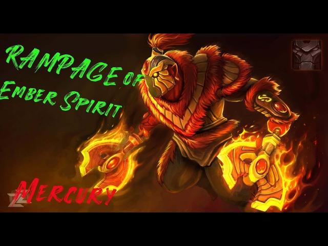 Rampage - Ember Spirit