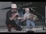Only 4 Years old - Hank Williams Jr.Jambalaya -----AMAZING---- -