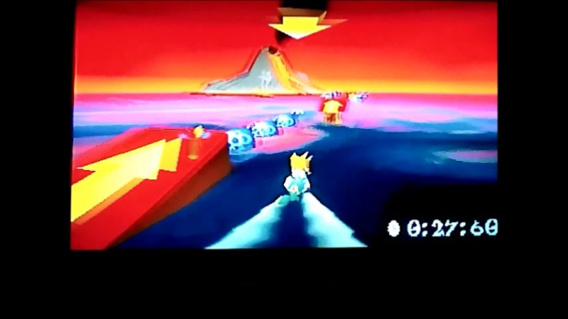 Crash Bandicoot 3:Warped (PAL-version) Time Trial