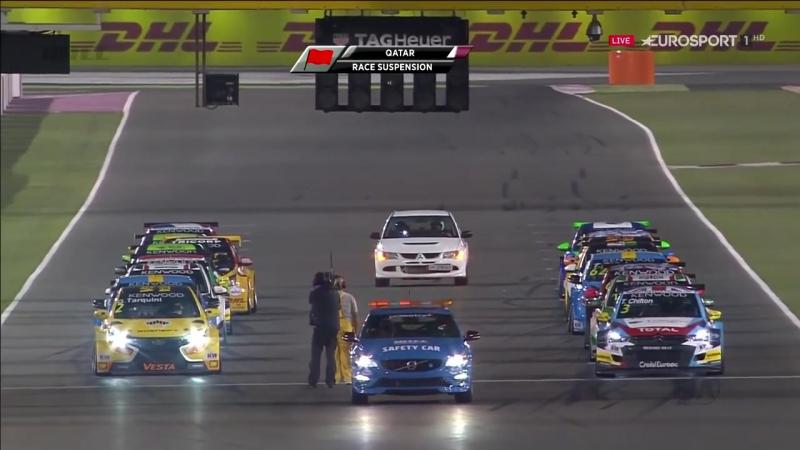 WTCC 2016. Этап 11 - Катар, Лосаил. Первая гонка. [ENG]