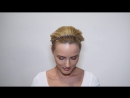 Украшение для волос с маленькими черными жемчужинами / SKU 119012