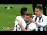 Вест Хэм - Вест Бромвич 2:2. Обзор матча. АПЛ 201617. 25 тур.