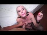 TSRaw Gabriela Rodrigues - Smoking Rod and Black Stockings Deep Bareback Shemale anal gay Трансы порно Tgirls