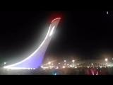 Сочи.Олимпийский парк.Поющие фонтаны.