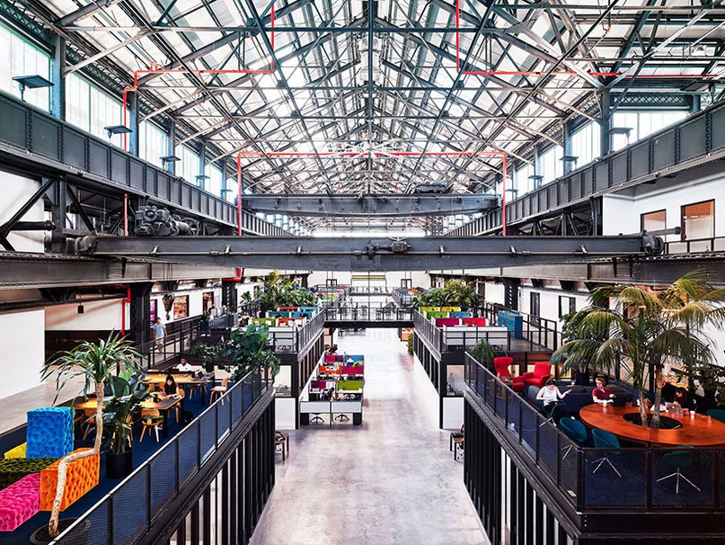 new lab tech workspace opens at brooklyn