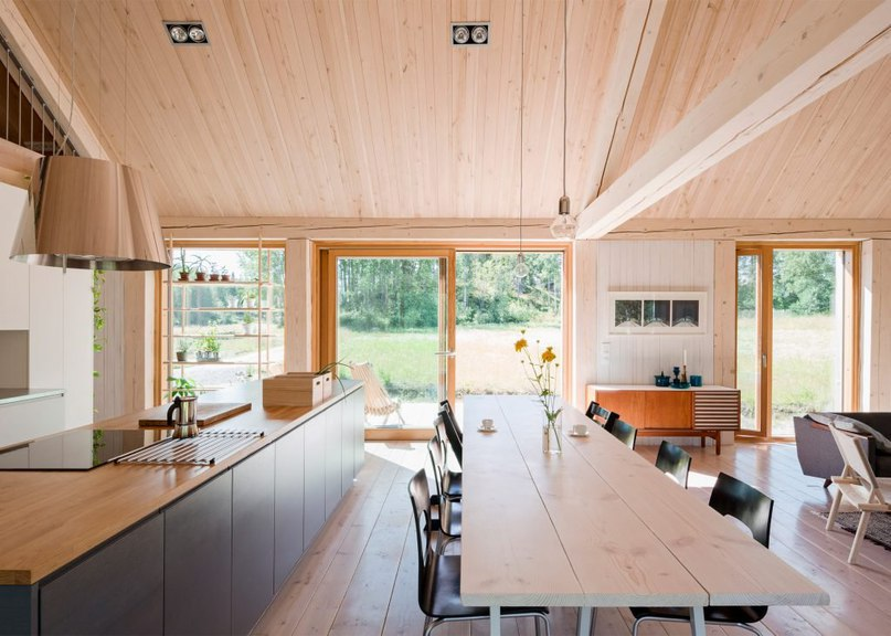 MNy Arkitekter uses seven types of timber