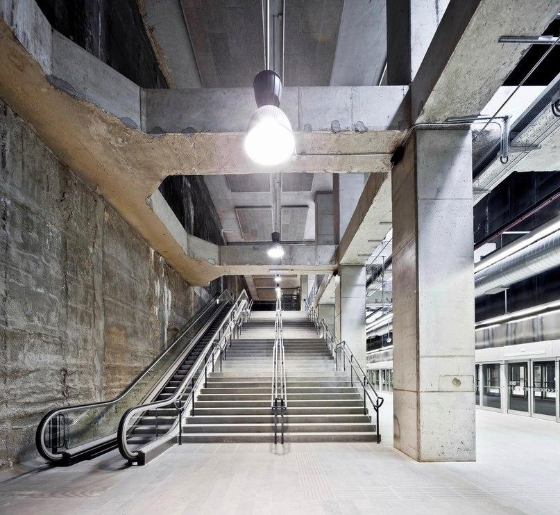 Часть 3. Три станции метро в Барселоне