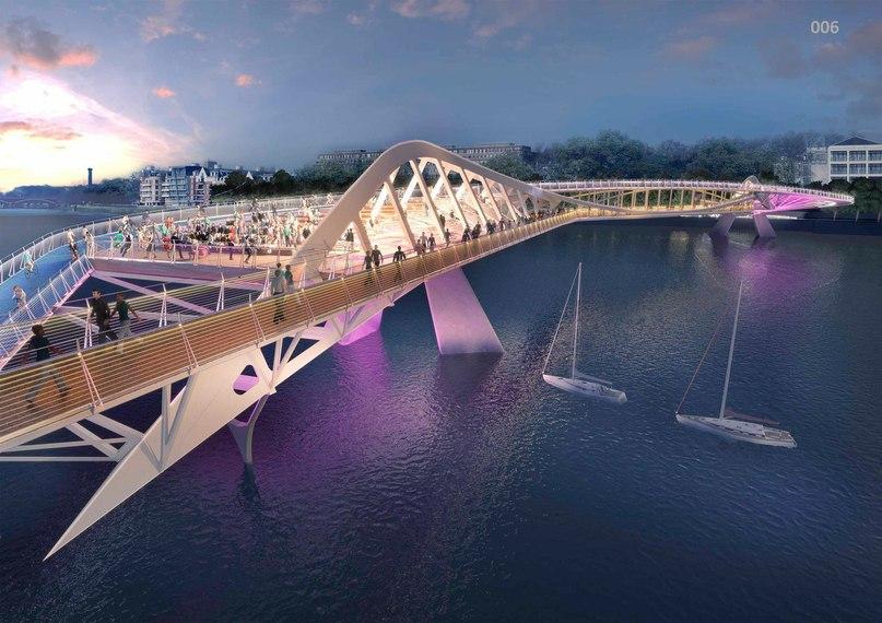Unusual Designs for New Thames Bridge in