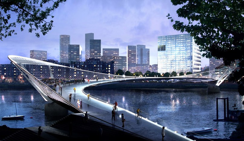 Unusual Designs for New Thames Bridge in