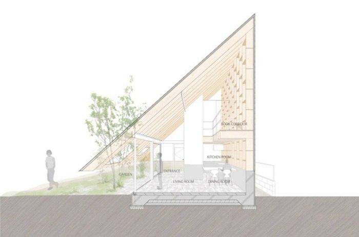 Японские архитекторы очень любят экспериментировать с формами,
