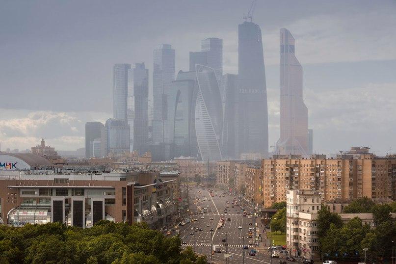 Москва-Сити 2015 года от фотографа Дмитрия Чистопрудова