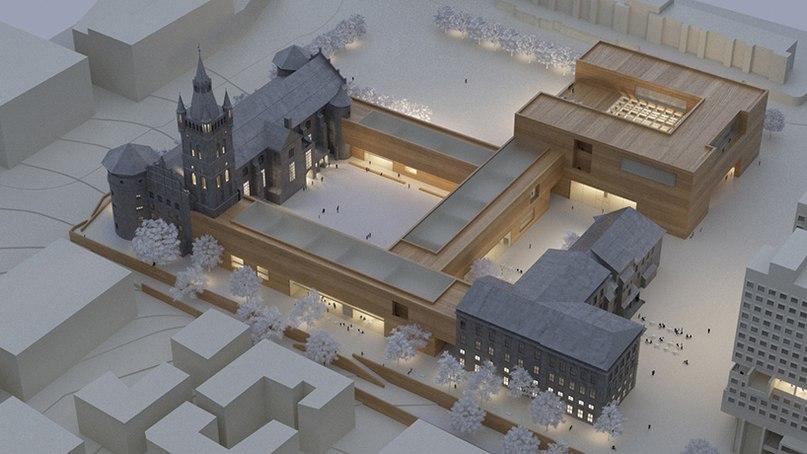 Победителем конкурса проектов по восстановлению исторического замка