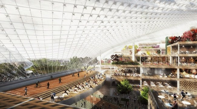 Новую штаб-квартиру Google построят роботы IT-кампус в Кремниевой